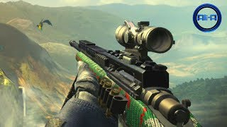 """Call Of Duty GHOSTS """"CHRISTMAS"""" Camo Gameplay! (FREE DLC"""