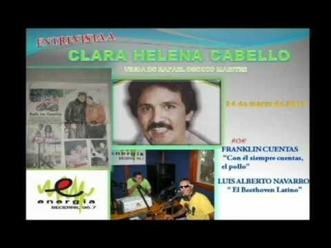 CLARA HELENA HABLA DE RAFAEL OROZCO MAESTRE (ENTREVISTA)