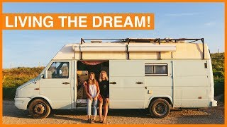 They Have the Best Work-Life Balance - Iveco Daily Van Tour!