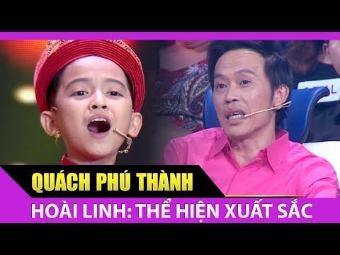"""Quách Phú Thành thể hiện """"Duyên nghiệp cầm ca"""" khiến Hoài Linh, Thanh Hằng hãnh diện"""
