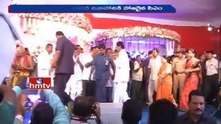 CM KCR & MP Kavitha attend MP Balka Suman Sister's Marriage