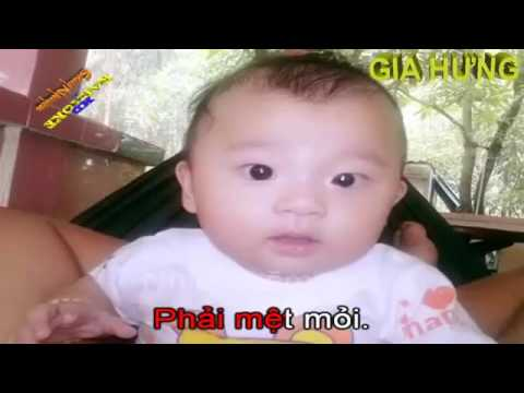 CHÂU GIA HƯNG,  Cha me oi con xin loi  KARAOKE HD