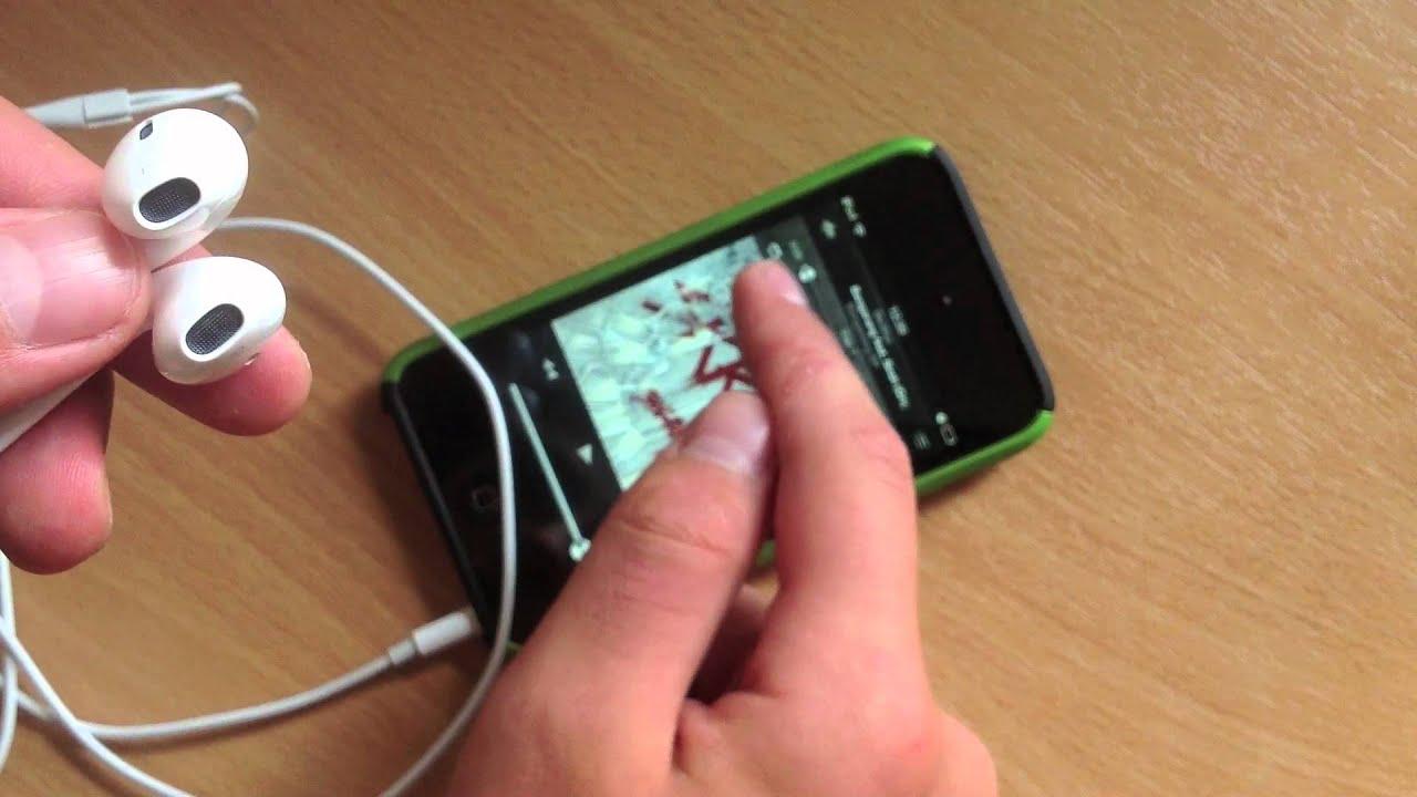 Как сделать наушники чтобы играли айфон