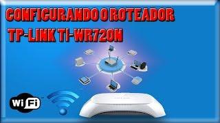 Como Configurar Roteador TP-LINK Tl-WR720N