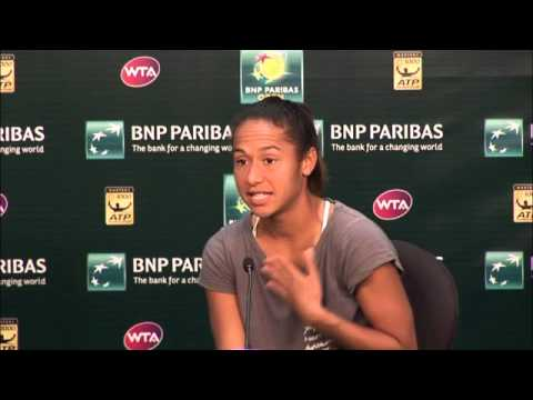 BNP Paribas Open: Heather Watson Second Round Press Conference