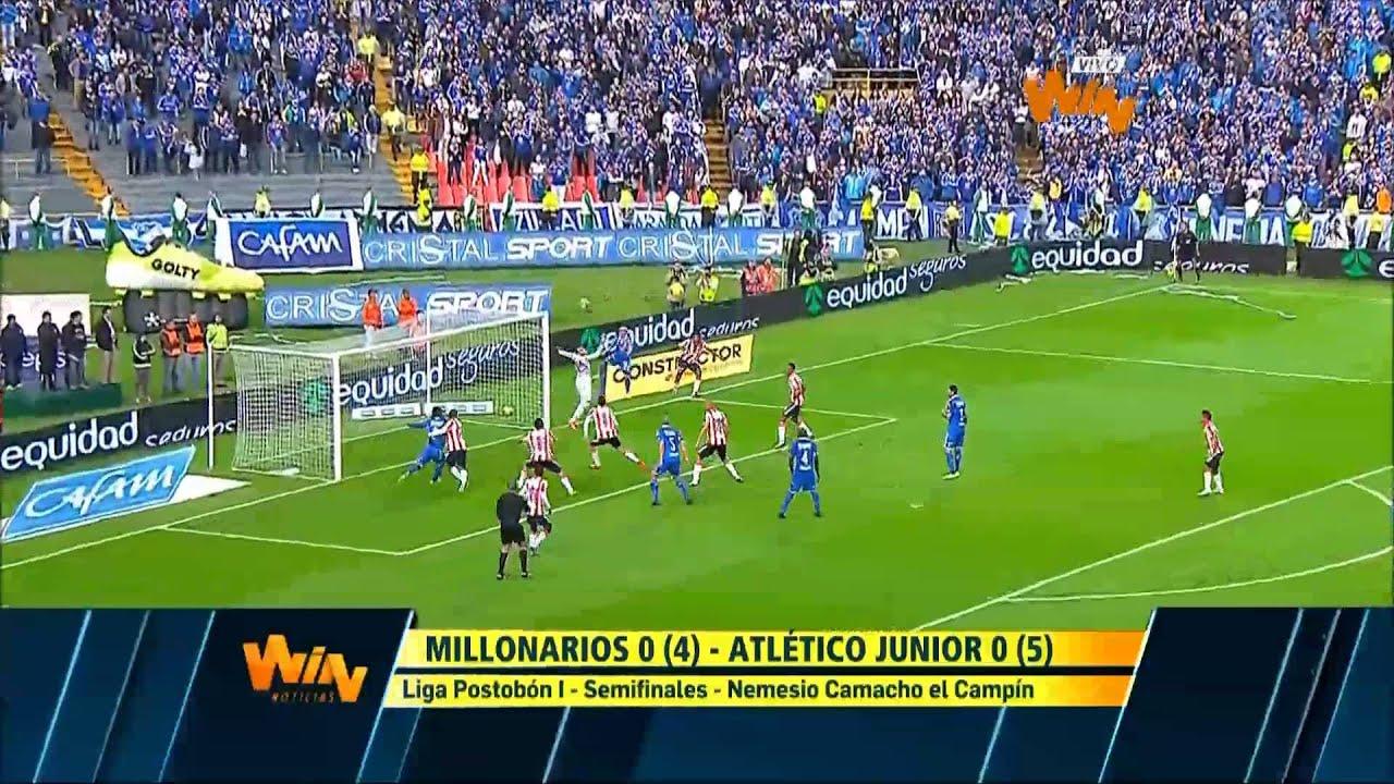 Millonarios 0-0 Atletico Junior Barranquilla