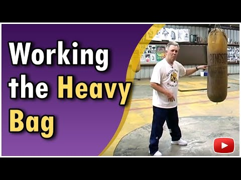 Become A Better Boxer - Working the Heavy Bag featuring Kenny Weldon