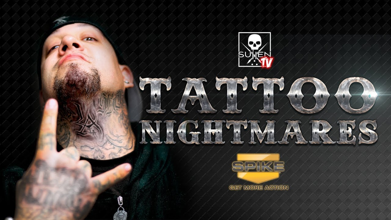 Sullentv tattoo nightmares with big gus youtube for Is tattoo nightmares still on