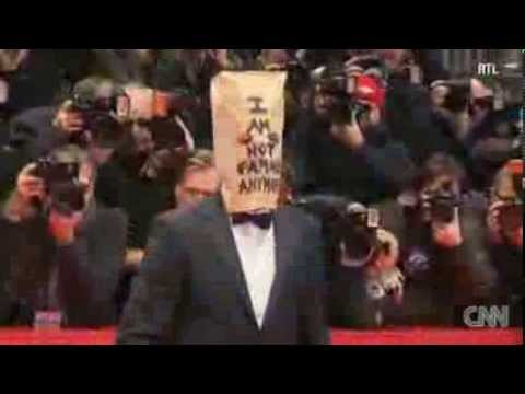 Shia LaBeouf Wears A Paper Bag At Berlin Film Festival Red Carpet