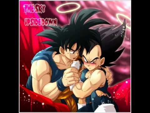 Goku x Vegeta - Birthday cake