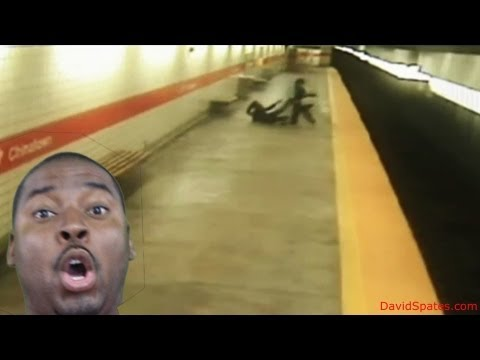 Man Throws Woman Onto Subway Tracks In Philidelphia ★DSVL★ (David Spates)