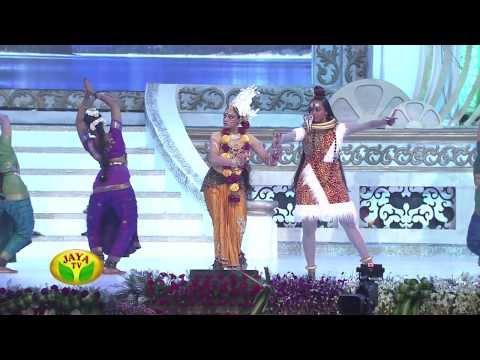 Actress Shobana Performing Bharatham In 100 Year Indian Cinema Celebration