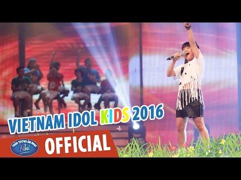VIETNAM IDOL KIDS - THẦN TƯỢNG ÂM NHẠC NHÍ 2016 - TOP 6 NỮ - GIRL ON FIRE - BẢO TRÂN