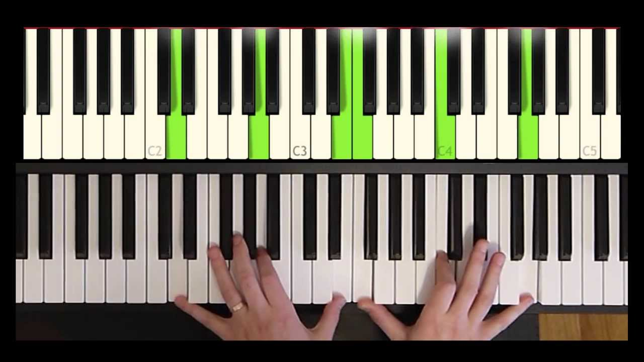 How to play a Gospel/Ru0026B Minor 11 Chord - The Piano Shed - YouTube