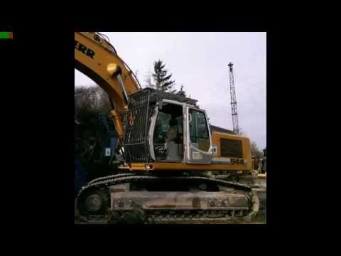 Liebherr R 944 C , Menck M90, Cat Radlader ,DAF und MAN Diashow