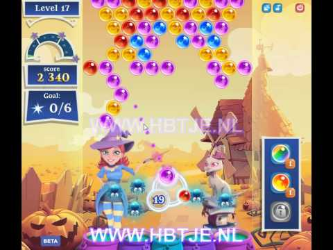 Bubble Witch Saga 2 level 17