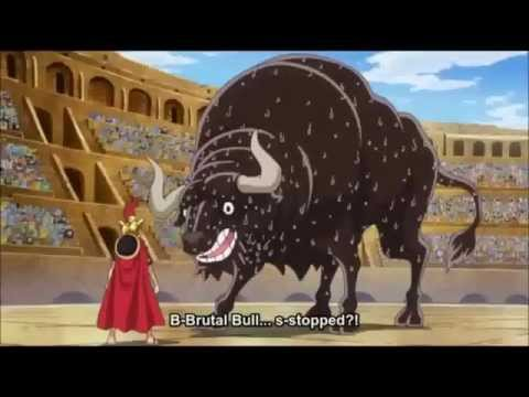 One Piece - Luffy vs Brutal Bull (ep. 643)