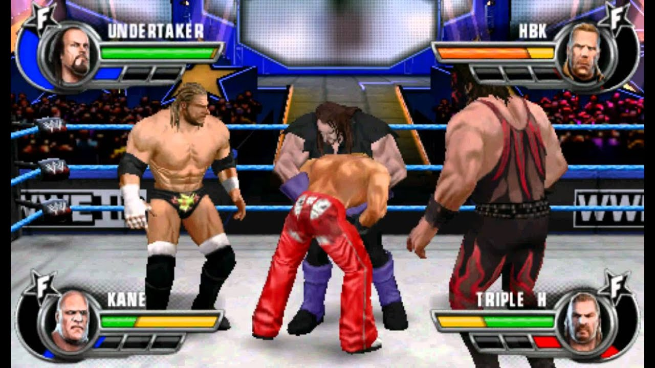 Wwe All Stars Psp Dx Vs Brothers Of Destruction Youtube