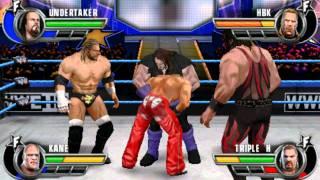 WWE ALL STARS PSP DX VS BROTHERS OF DESTRUCTION