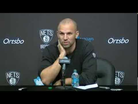 Jason Kidd on Lawrence Frank's Reassignment