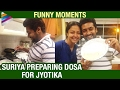 Viral : Suriya makes the perfect 'dosa' for Jyothika; watc..