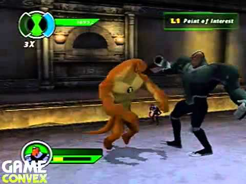 Ben 10: Ultimate Alien Cosmic Destruction - PS2 - 1 - The Catacombs