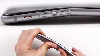 New iPhone 6 Plus Bent test (easily bent using bare hands)