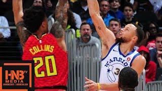 Golden State Warriors vs Atlanta Hawks Full Game Highlights / March 2 / 2017-18 NBA Season