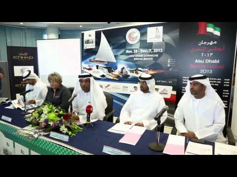 Festival of Abu Dhabi International Marine Sports 2013
