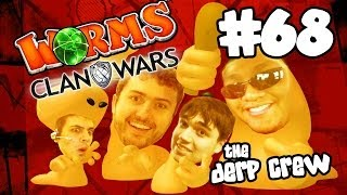 TWO WORMS EACH (Worms Clan Wars w/ The Derp Crew / Facecam)
