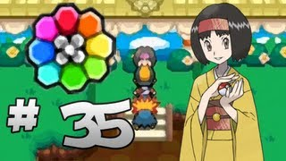 Let's Play Pokemon: HeartGold Part 35 Celadon Gym