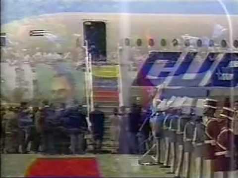 Llegada de Presidentes a Toma de Posesión 02-Feb-1999