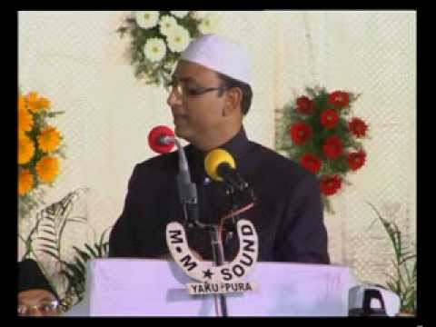 Amjed Ullah Khan Corporator speech at 22nd Jalse Milad Un Nabi of MBT