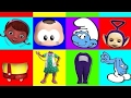 Wrong Heads DOC McStuffins Smurfs Teletubbies M nica Toy Finger Family Nursery Rhyme Song