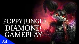 [Season 4] Poppy Jungle OP?? Full Diamond Gameplay