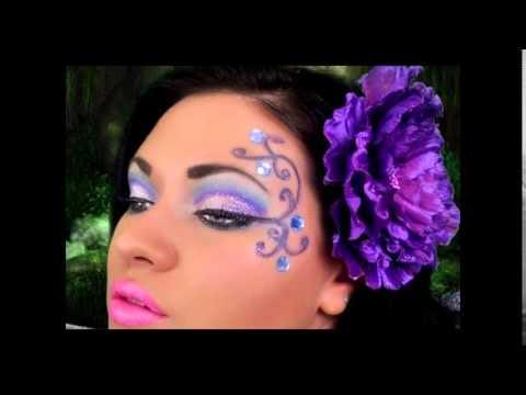 Maquillaje mariposa para ninas