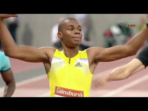 Warner Weir wins 200m in London