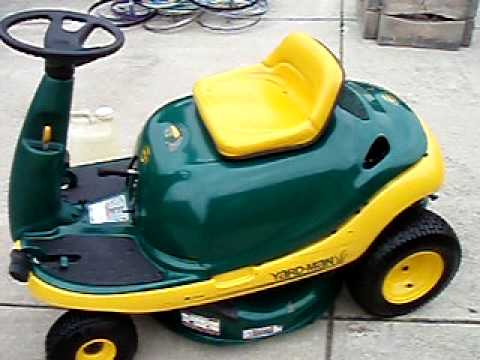Yard Bug 9hp Ohv Mtd Youtube