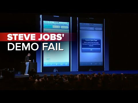 CNET News: Steve Jobs' demo fail