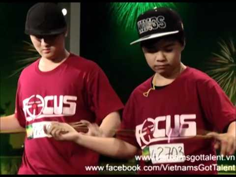 [FULL] Nhóm YoYo FOCUS - Vietnam's Got Talent
