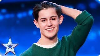 Singer-songwriter Reuben Gray does his dad proud | Auditions Week 2 | Britain's Got Talent 2017