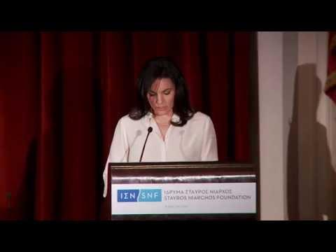 2014-04-03 Olga Kefalogianni -- Minister of Tourism of the Hellenic Republic GR