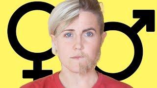 Gender Makeup Transformation!    Hannah Hart