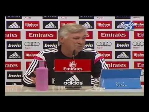 Real Madrid-FC Barcelona: Conferencia de prensa de Carlo Ancelotti previa