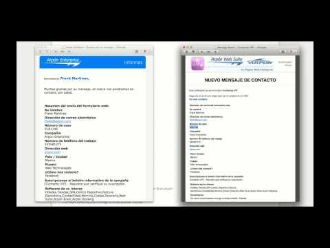 Formularios Inteligentes y CRM - Arpón Web Suite