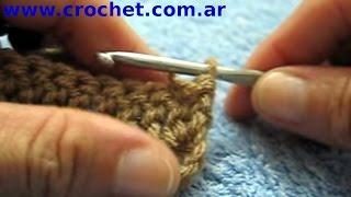 Como Aumentar Al Comienzo De Un Tejido Crochet Tutorial