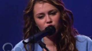 Miley Cyrus - I Miss You (live)