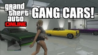 GTA V Online Secret Rare Gang Vehicles ( Pimp Cars GTA 5 )