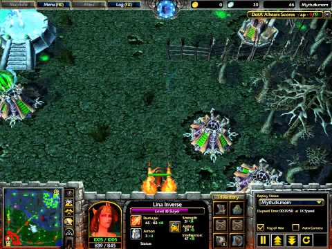 AC #47: China vs Indonesia (EHOME vs XcN) (DotA v6.48b), 12.12.2007