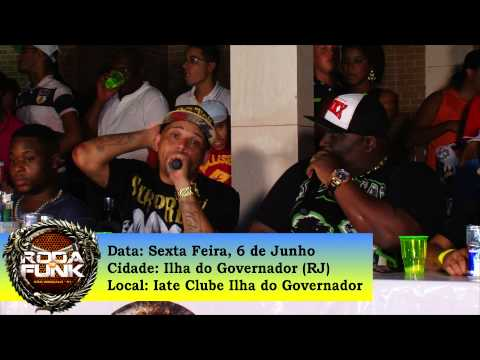 Chamada para a Roda de Funk da Ilha do Governador - Rio de Janeiro ::